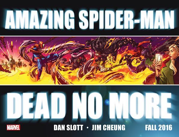 dead no more amazing spider-man
