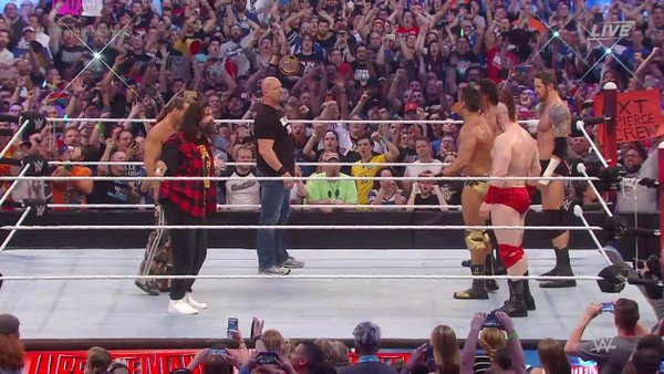hbk stone cold mick foley wwe wrestlemania 32