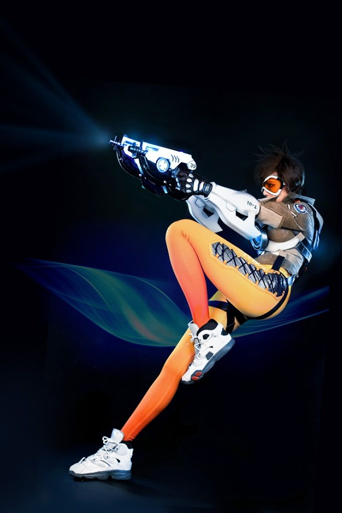 tasha cosplay tracer overwatch (3)