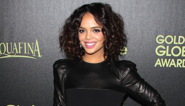 The Hollywood Foreign Press Association and InStyle Celebrate the 2015 Golden Globe Award Season held at Fig & Olive Melrose Place Featuring: Tessa Thompson Where: Los Angeles, California, United States When: 20 Nov 2014 Credit: Adriana M. Barraza/WENN.com