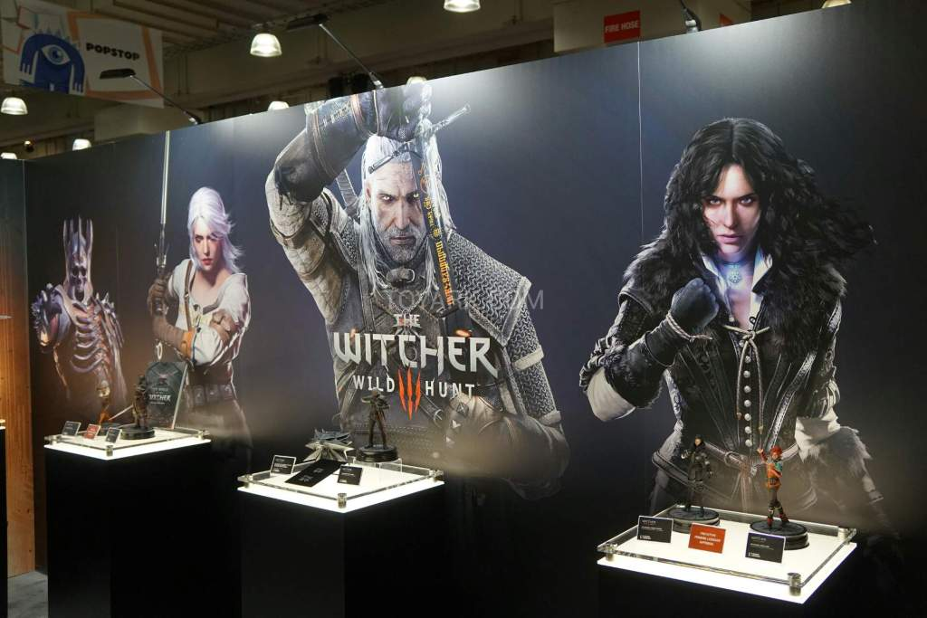 toyfair 2016 dark horse the witcher 3 (2)