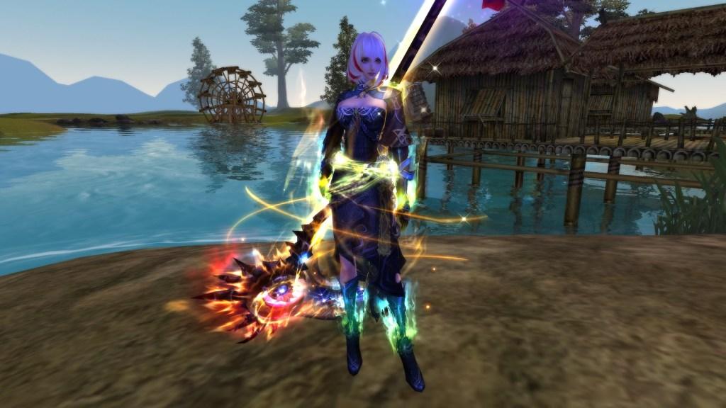 Yu Xia class from Perfect World 2.0