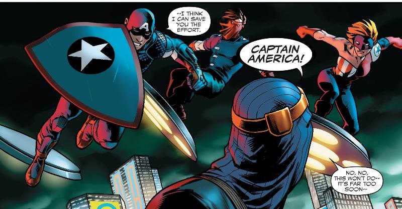 Captain America - Steve Rogers 001-022