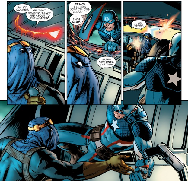 Captain America - Steve Rogers 001-024