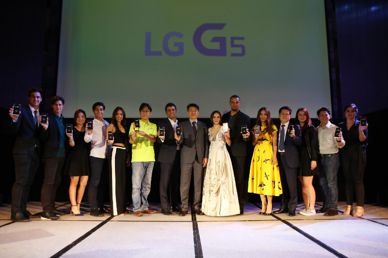 LG G5 launch celebrity endorsers