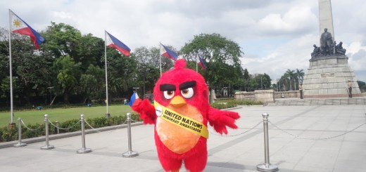 angry birds movie red luneta park