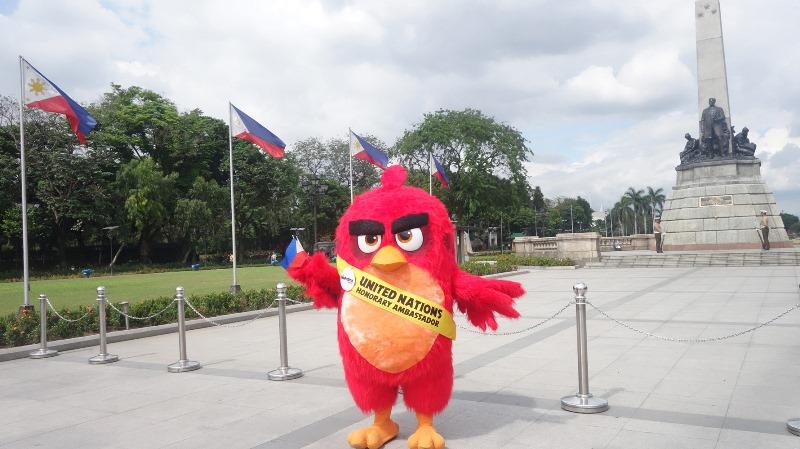 angry birds movie red luneta park
