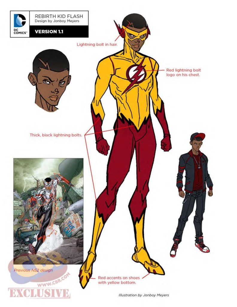 dc rebirth teen titans Kid Flash