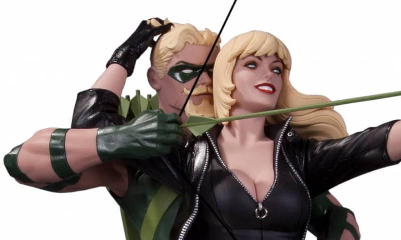 dc-collectibles-green-arrow-black-canary-statue-pr
