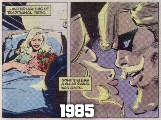 green_arrow_black_canary_relationship_thru_the_years (1)