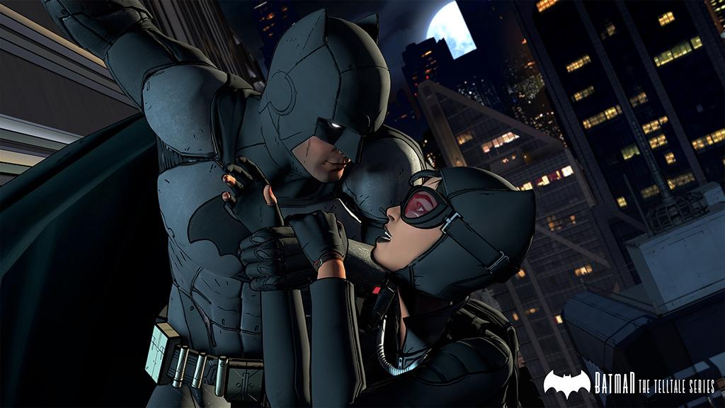 batman telltale series screenshot batman and catwoman