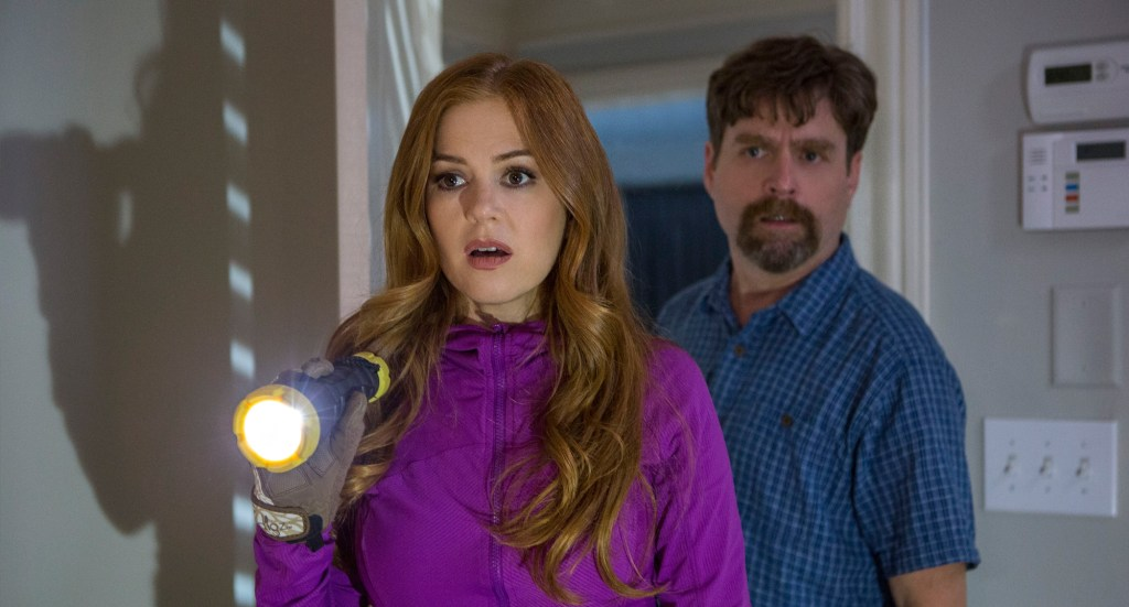isla fisher and zach galifianakis KEEPING UP WITH THE JONESES