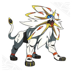 Solgaleo for Pokemon Sun