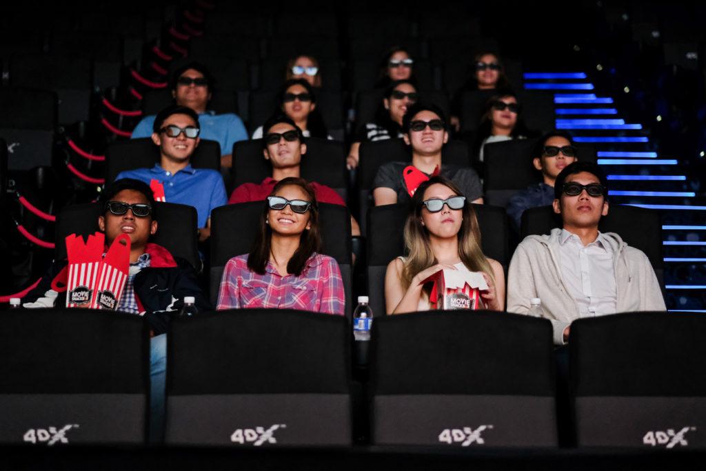 4DX cinema at Ayala Malls U P Town Center