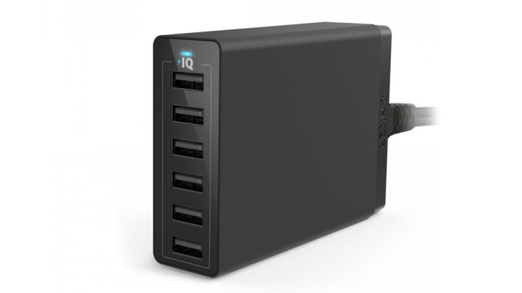 ANKER 60W 6 Port Wall Charger