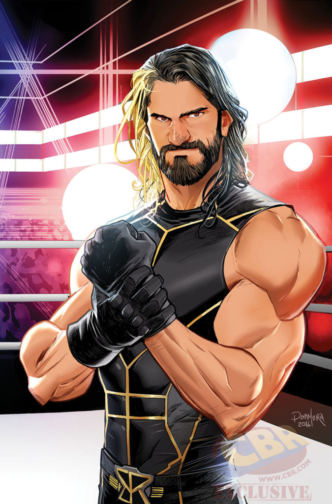 WWE then now forever # 1 seth rollins