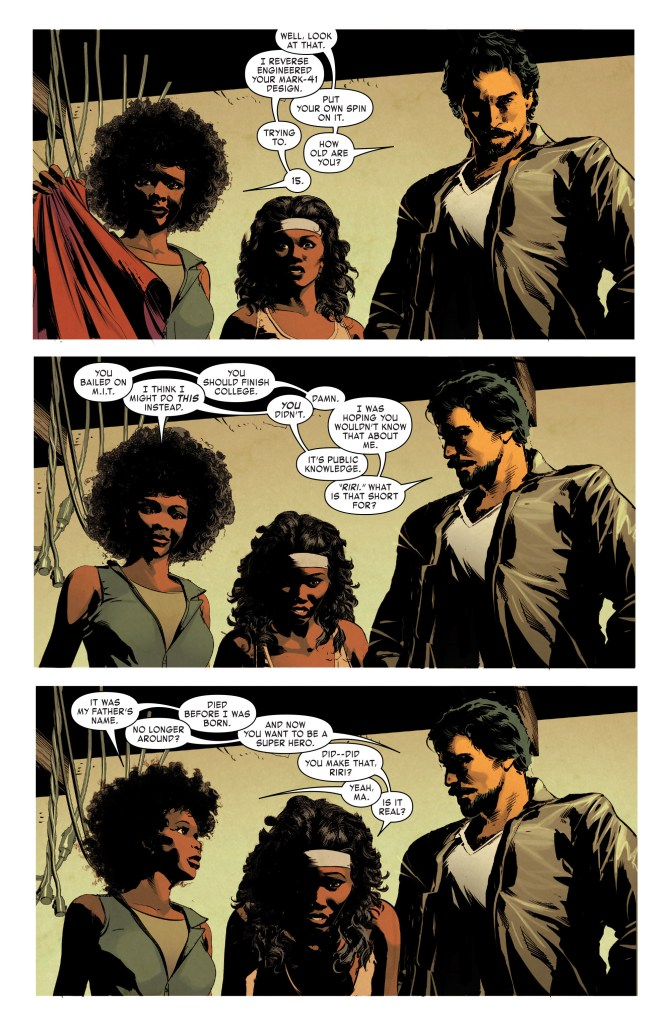 invincible iron man 12 2016 riri williams spoilers (4)