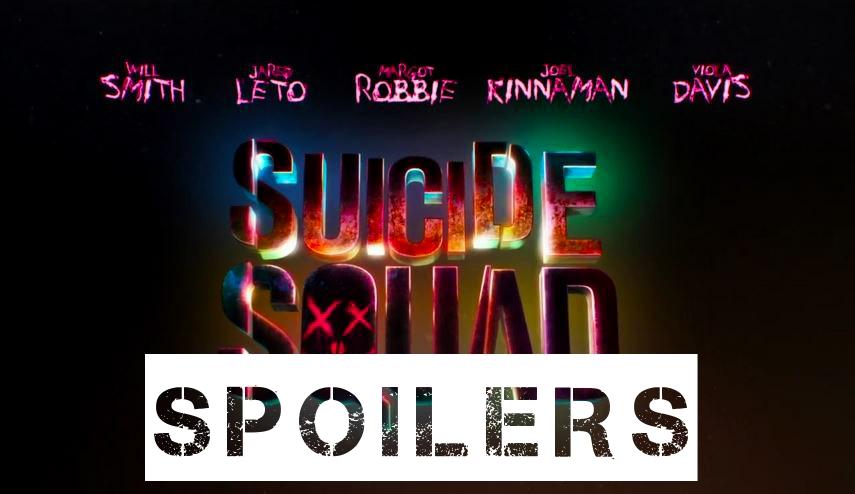 suicide squad movie spoilers