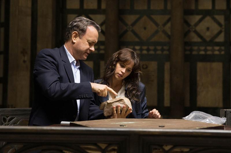 "Tom Hanks and Felicity Jones star in Columbia PIctures' ""Inferno."""