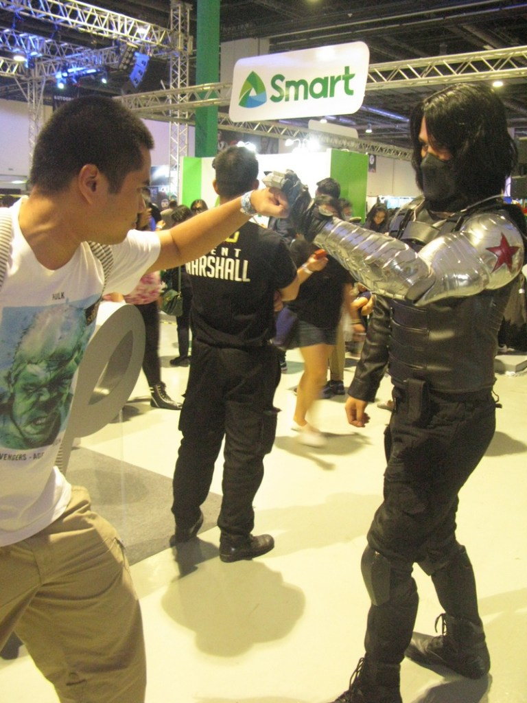 asiapop comicon 2016 gwapo bucky winter soldier