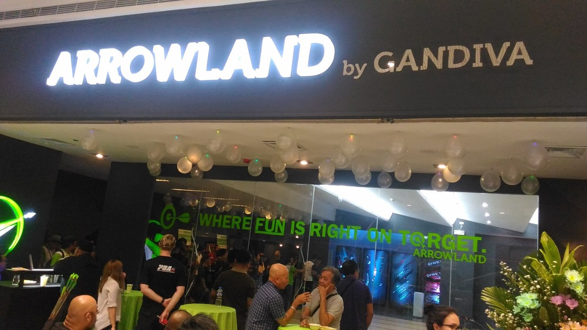 Be Your Own Arrow or Katniss with the Opening of Arrowland by Gandiva in SM Megamall