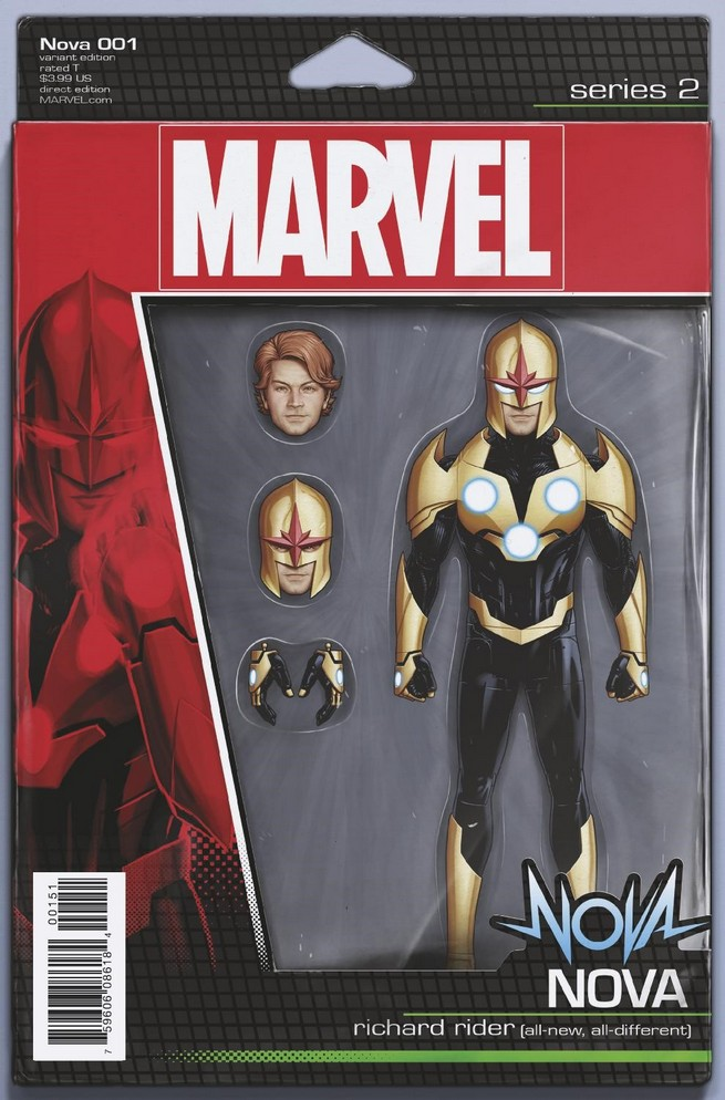 Action Figure Variant Cover