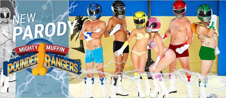 WTF for the Day: The Power Rangers Porn Parody