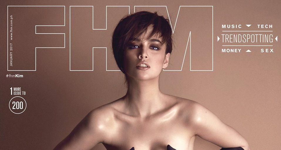 Kim Domingo as FHM Philippines January 2017 Covergirl