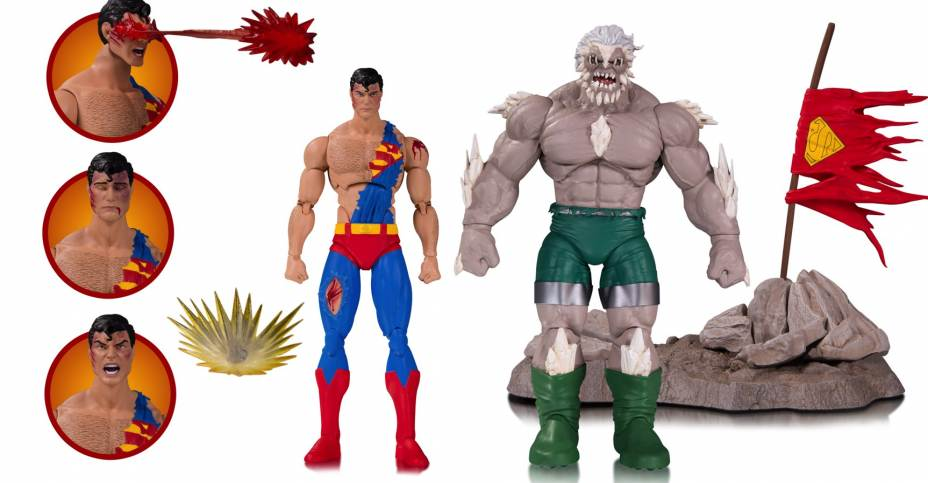 Toy Fair 2017: DC Icons Super Sons, Supergirl, Death of Superman and Nightwing
