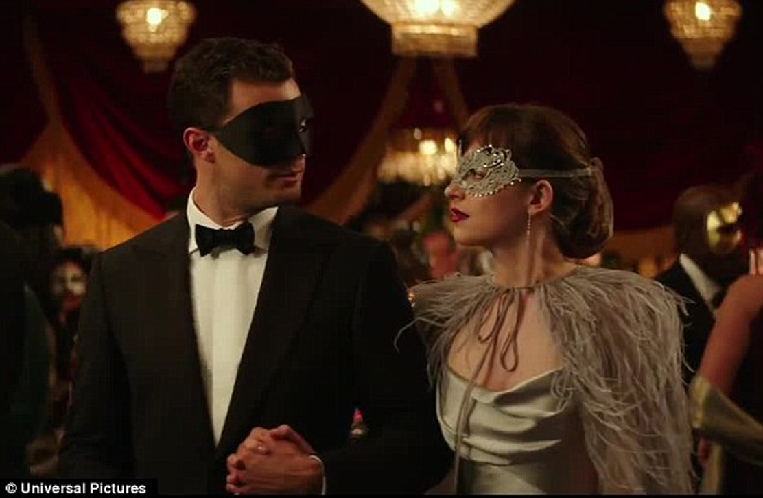 Lavish Sensuous Masquerade Ball At Centerpiece Of Quot Fifty