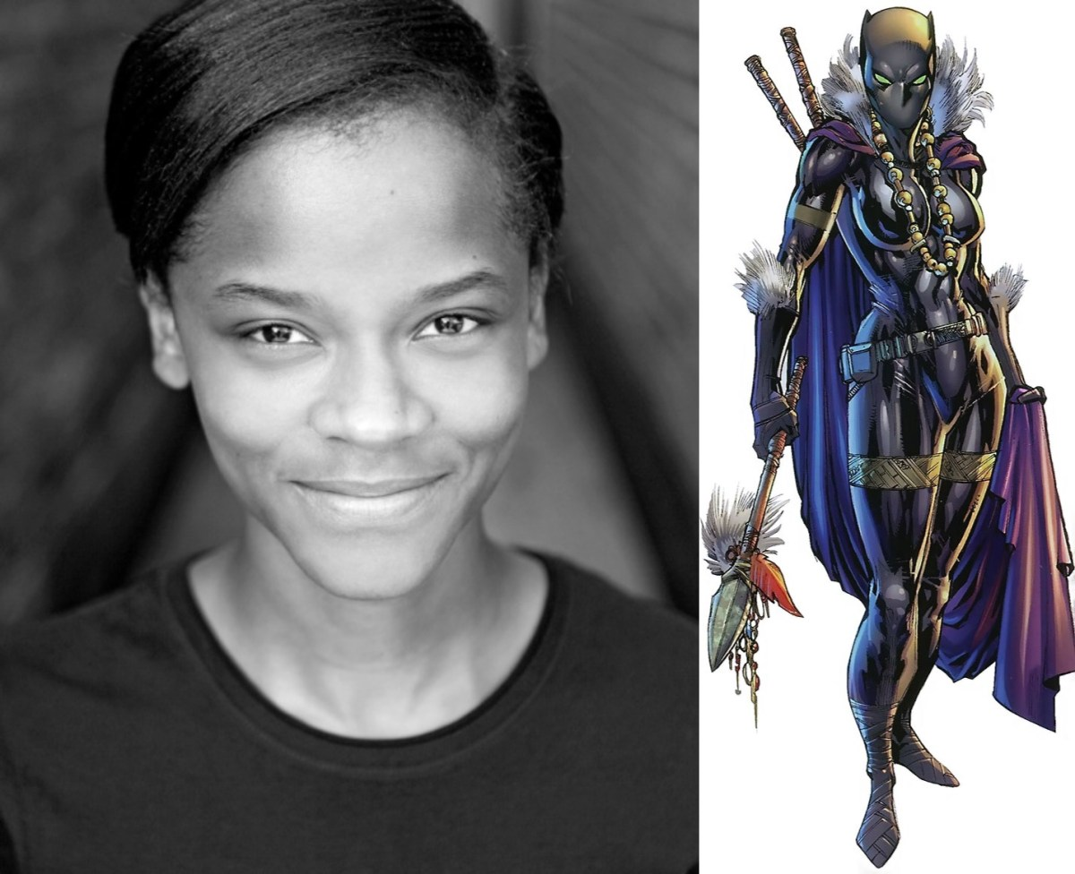 Letitia Wright Cast as Black Panther's Sister Shuri