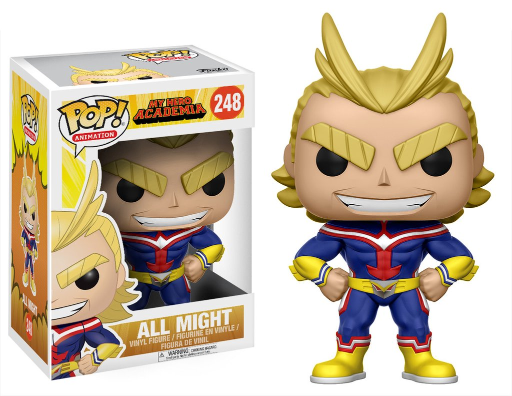 my hero academia funko pop All might