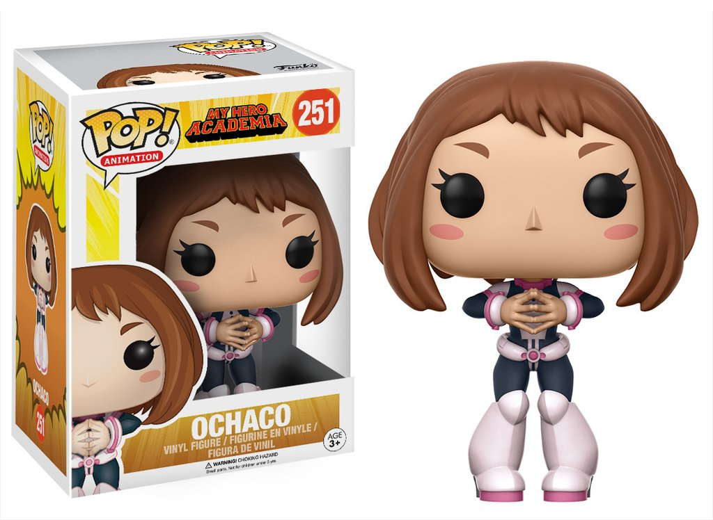 my hero academia funko pop ochaco