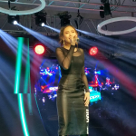 Sarah Geronimo at the Oppo F3 Launch
