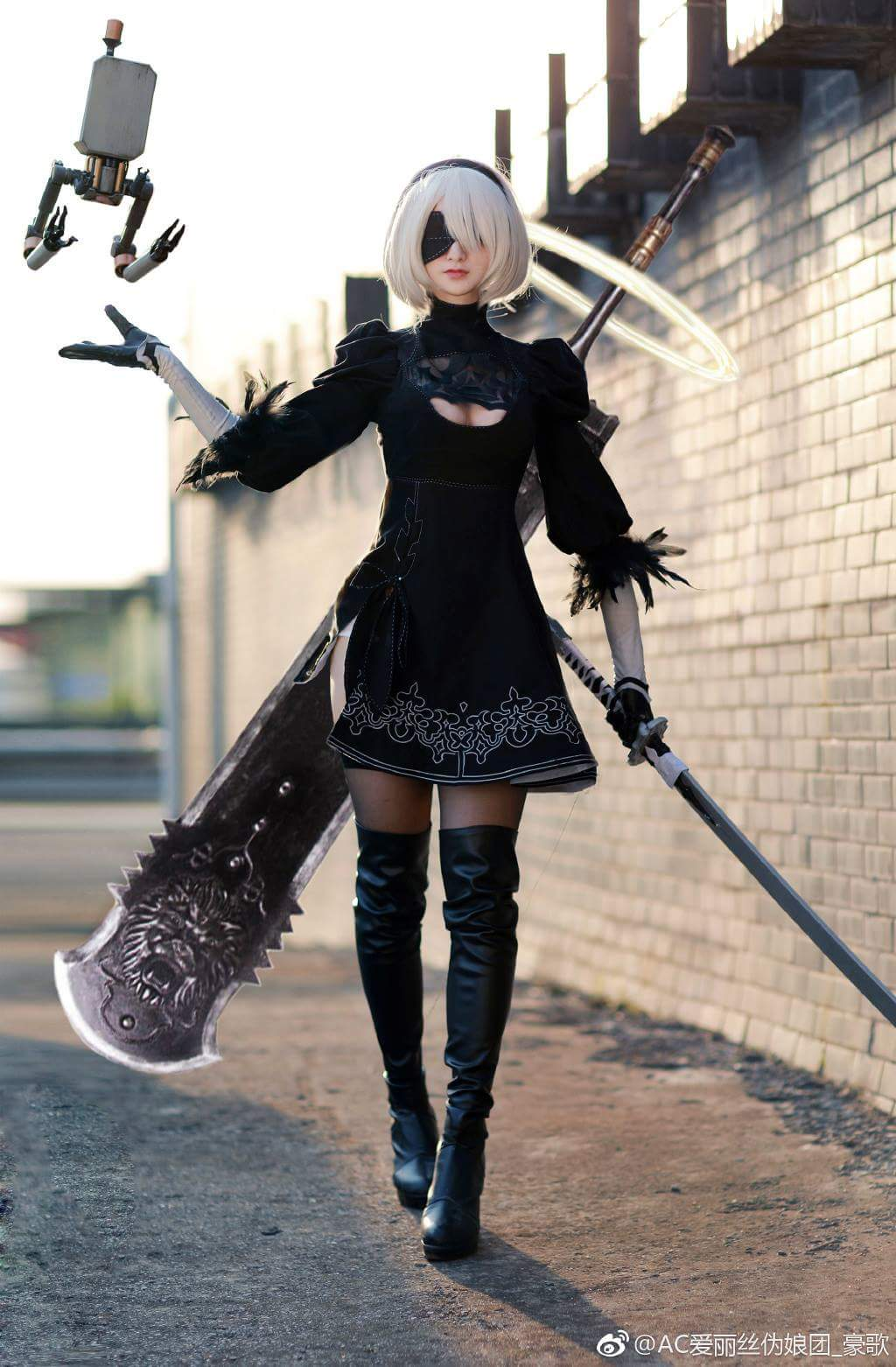 Best cosplay of 2b nier of history 5