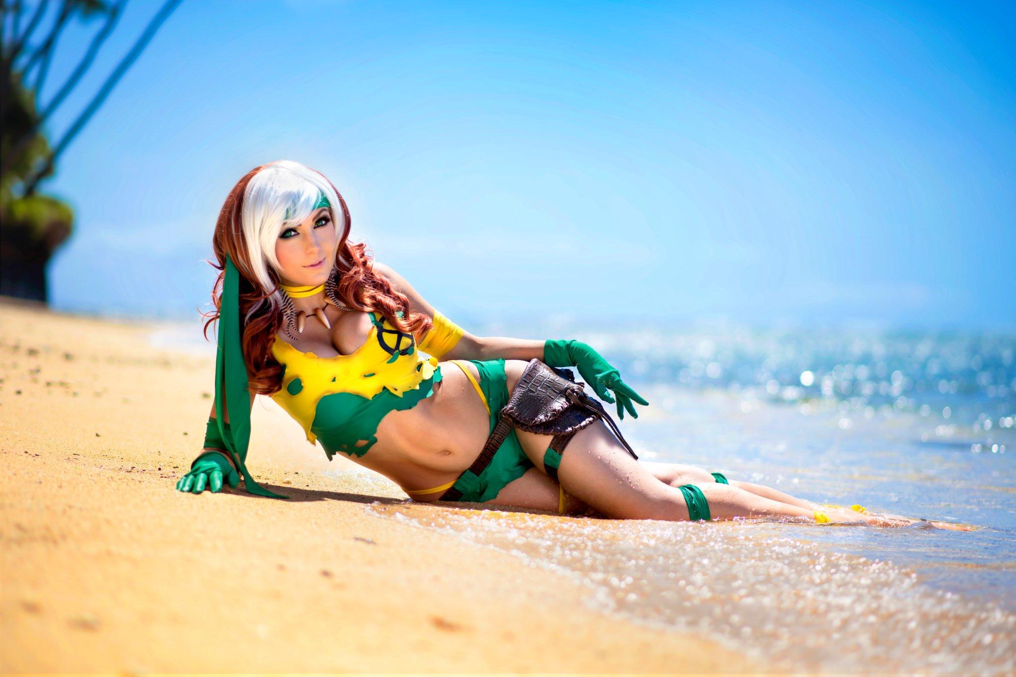 Savage land rogue cosplay