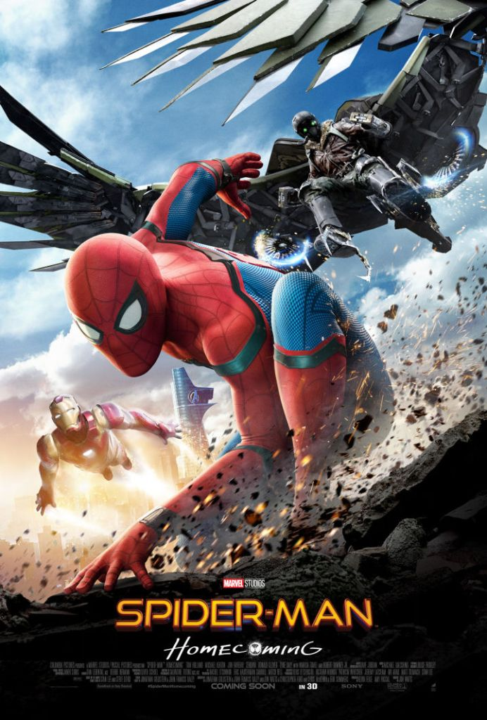 spiderman homecoming international poster