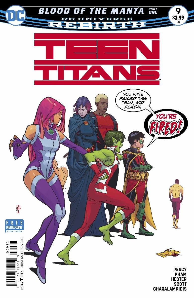 Damian Wayne I Dont Speak Disney Teen Titans  9 -8751