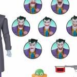 Batman The Animated Series Figures Tease New Joker, Harley Quinn and Jokermobile