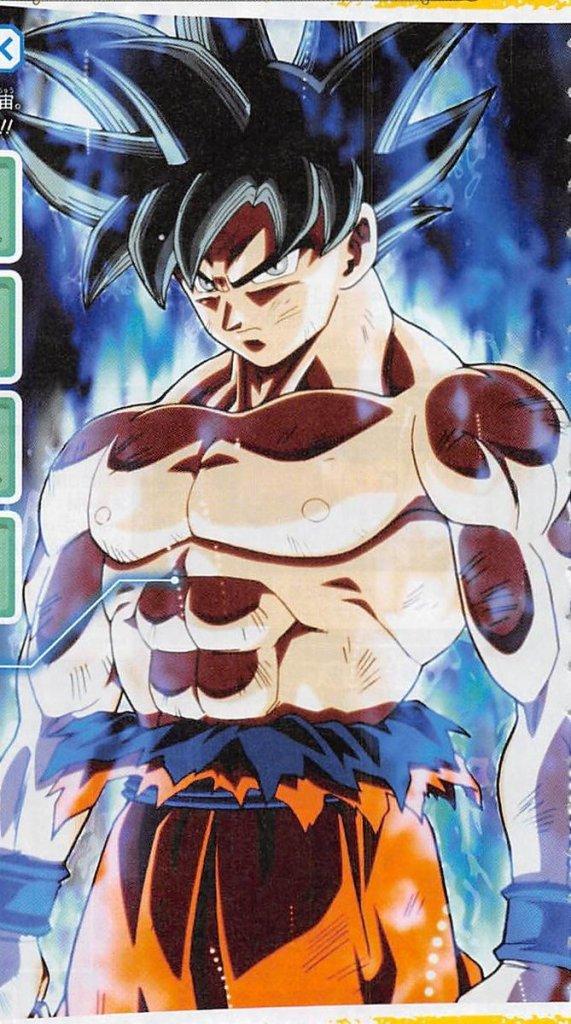 new goku transformation