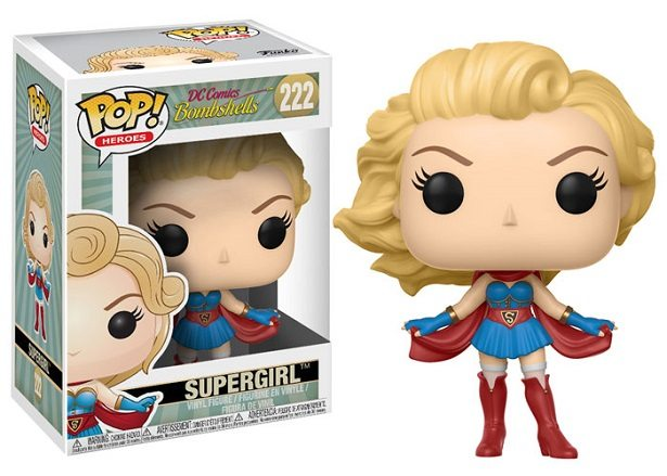 dc comics bombshells funko pop supergirl