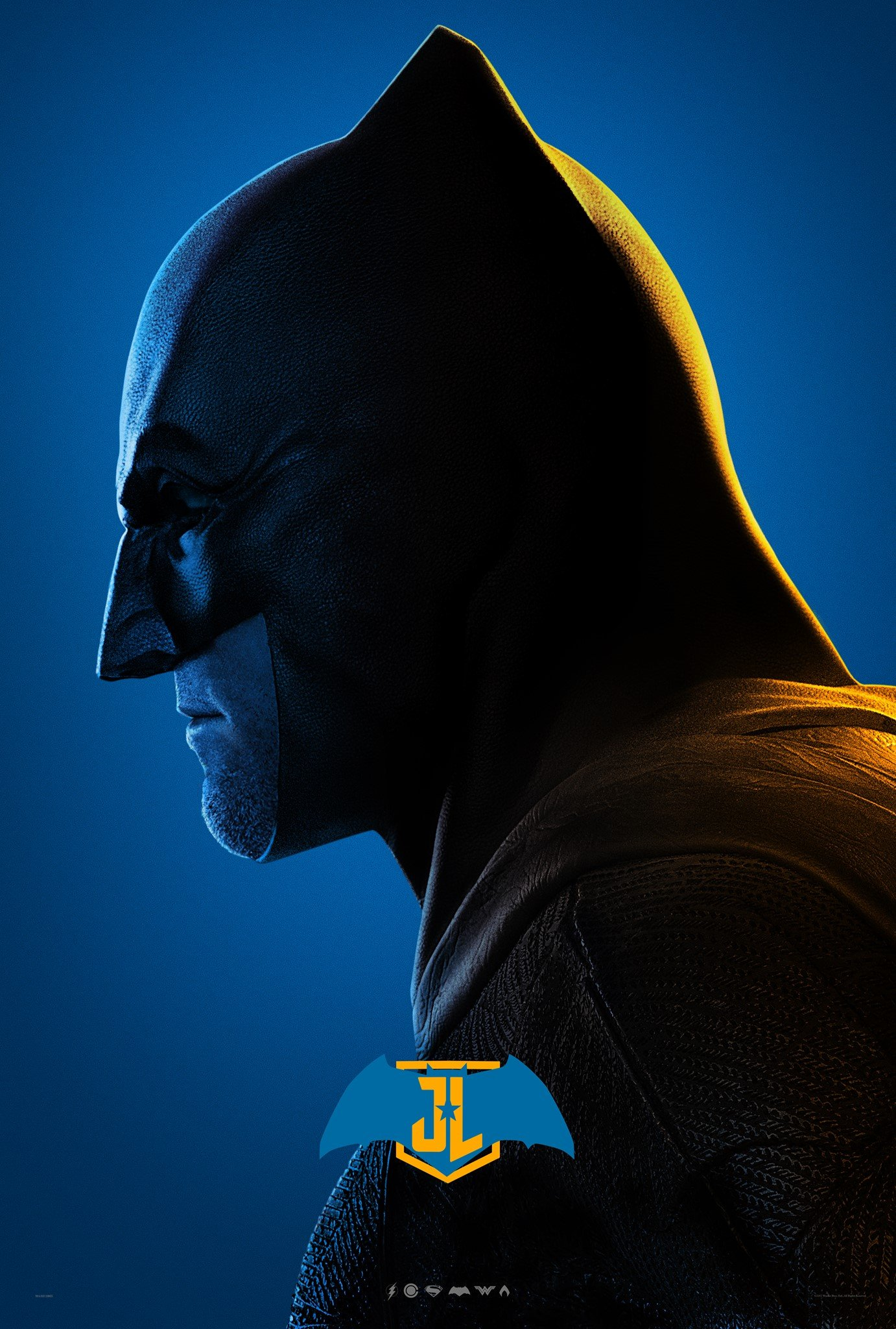Justice league character posters batman