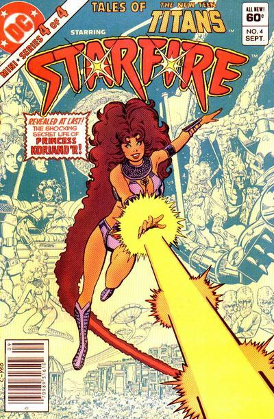 starfire tales of the teen titans