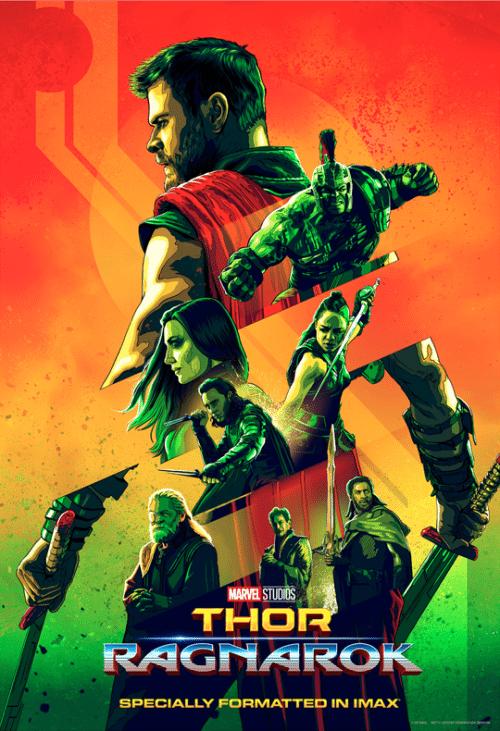 thor:Ragnarok imax poster