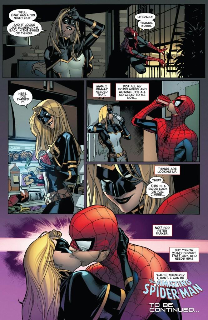Mockingbird and spidey amazing spiderman 789