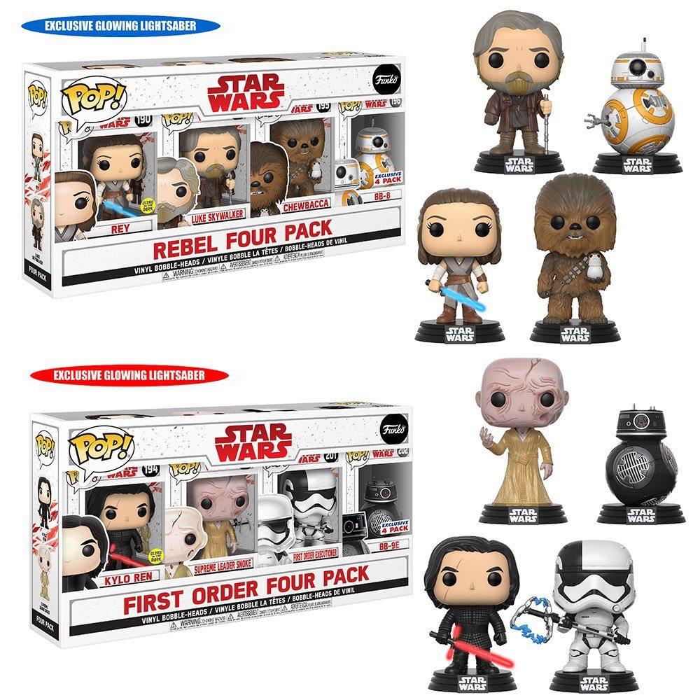 funko star wars rebel four pack