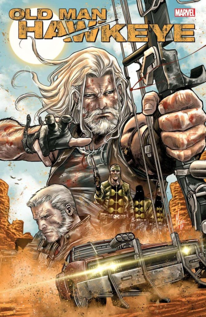 Old man hawkeye checchetto
