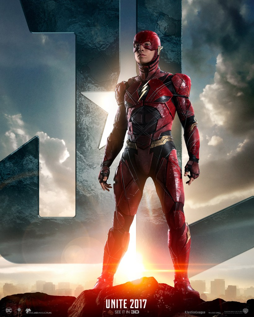 justice league poster the flash