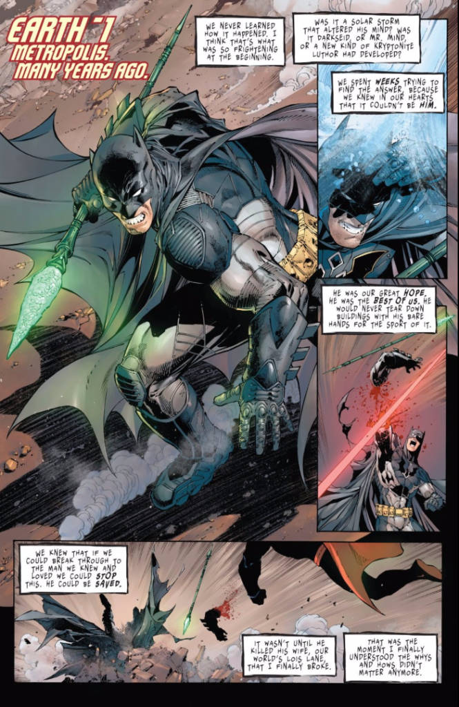 batman versus superman batman the devastator