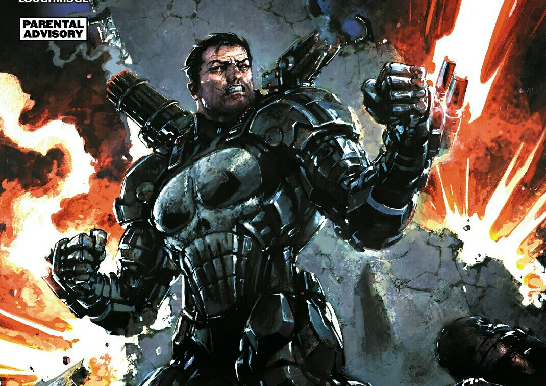 Punisher Becomes War Machine